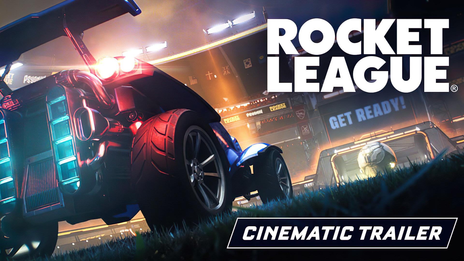 Trailer, Rennspiel, Sportspiel, Rocket League, Psyonix