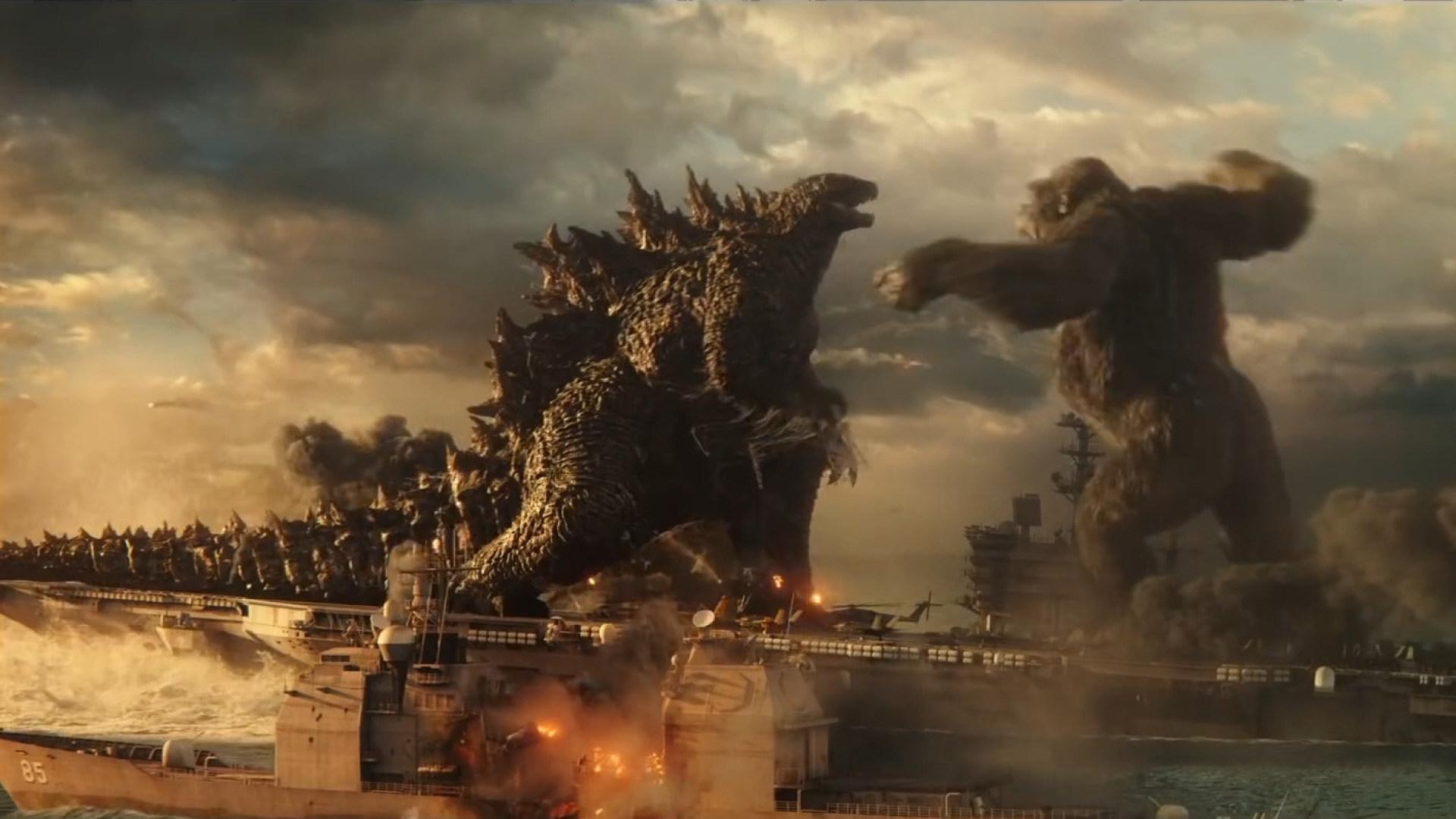 Trailer, Film, Kino, Kinofilm, Warner Bros., Warner Bros, Godzilla, Godzilla vs. Kong, King Kong