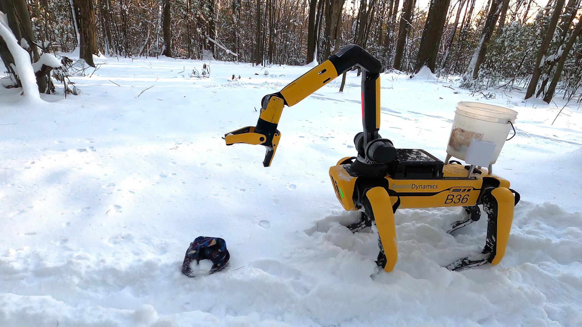 Forschung, Ki, Künstliche Intelligenz, Roboter, Robotik, Spot, Boston Dynamics