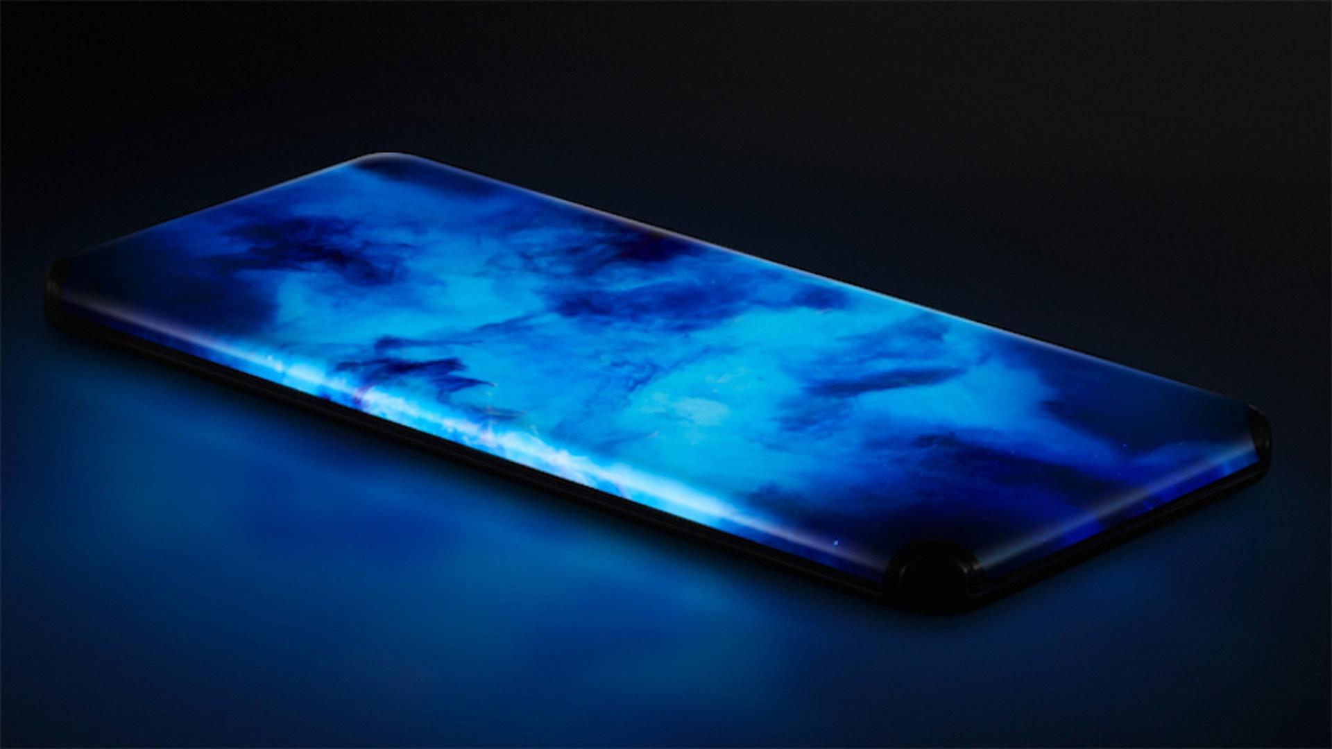 Smartphones, Xiaomi, Bildschirm, OLED, Panel, Konzept, Anschlüsse, curved, Waterfall Display