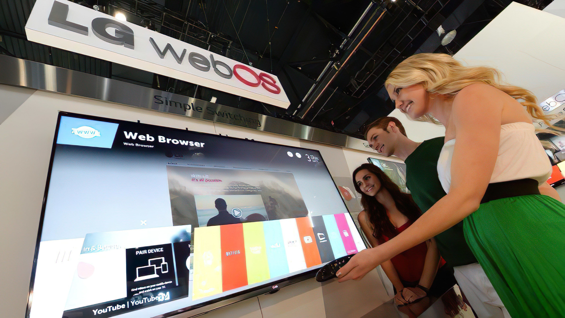 Ärger auf LG OLED-TVs: Werbespots mit Ton tauchen im Menü auf - WinFuture