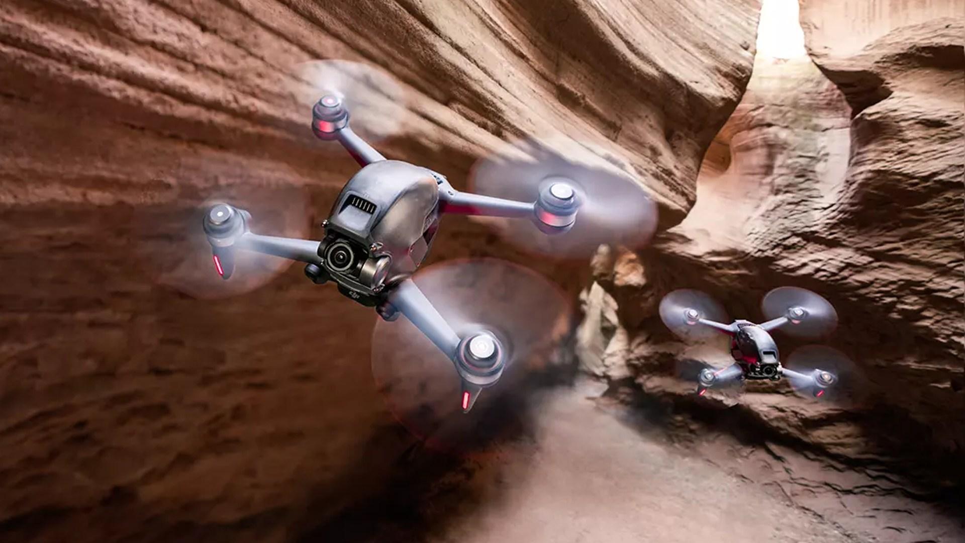 DJI FPV Drone: Das ist die neue (Renn-)Drohne mit First Person View - WinFuture