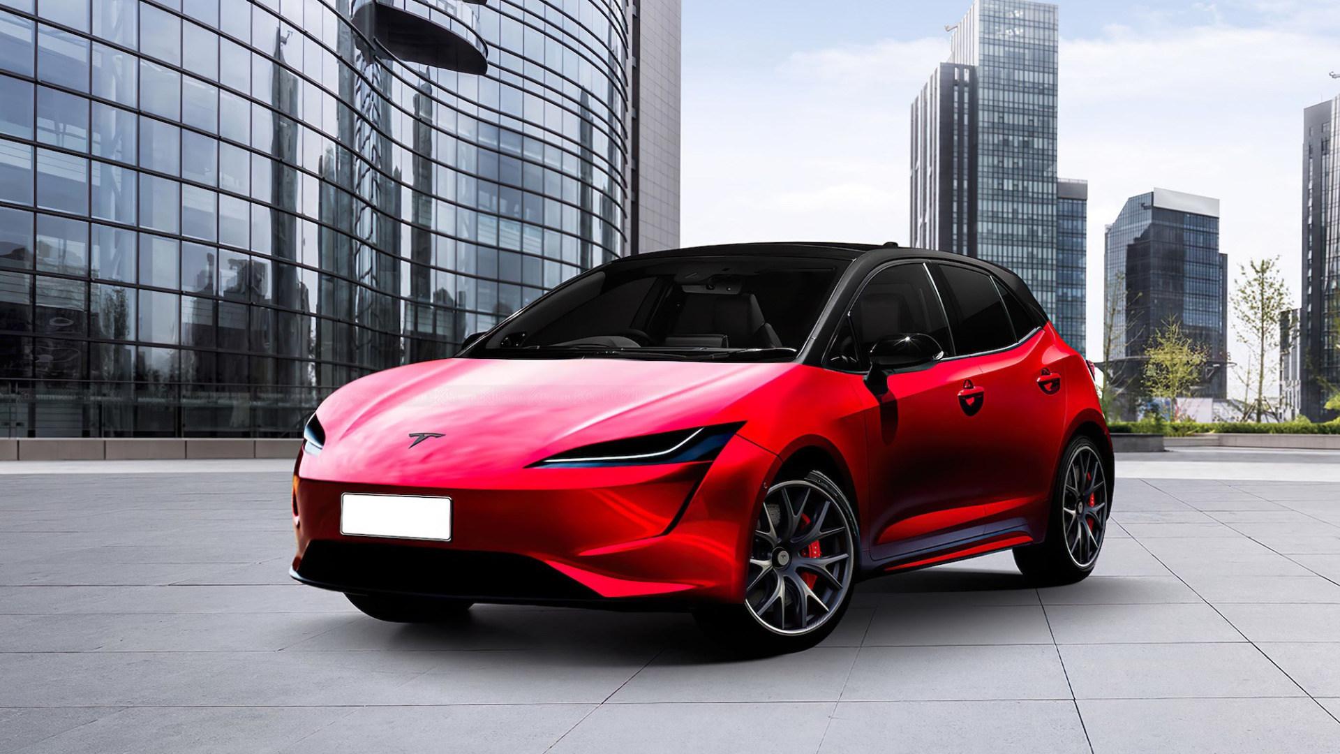 Tesla Model 2 - so könnte das 20.000-Euro-E-Auto aussehen - WinFuture