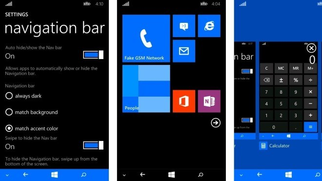 Windows Phone Registrieren
