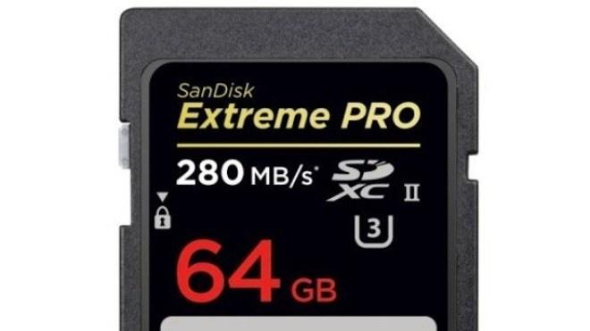 schnelle sd karte SanDisk: Weltweit schnellste SD Karte präsentiert   WinFuture.de
