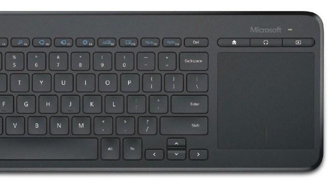 microsoft bringt pc-keyboard fürs wohnzimmer - winfuture.de