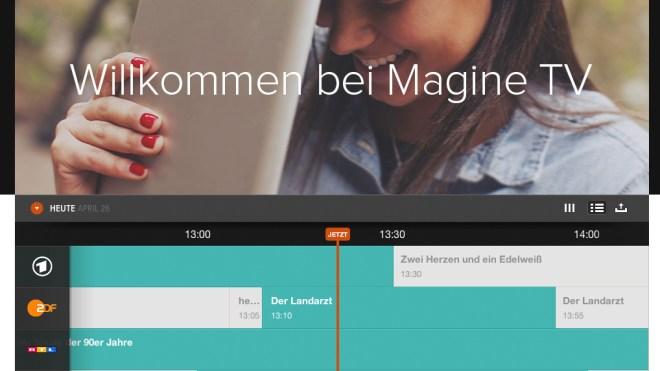 Magine TV: Private Sender erstmals als IPTV ohne Receiver in HD