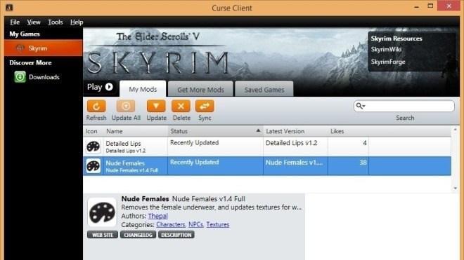 Curse Client - Add-on-Verwaltung für Spiele wie WoW und