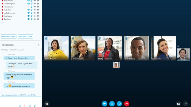 Skype Voip Technical Preview Business Skype VoIP Lync Skype for Business	Bildquelle Microsoft