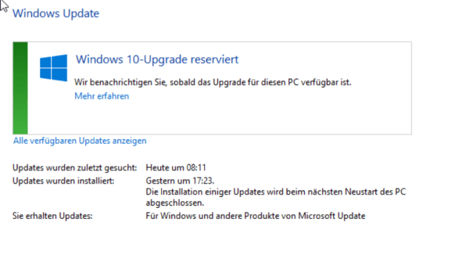 Windows 10 Wie Man Das Upgrade Offer Symbol Entfernen Kann