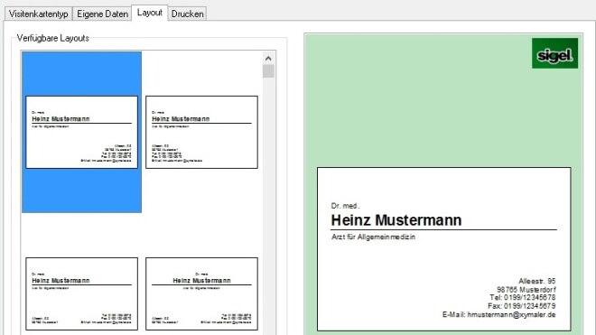 Visitenkarten In 2 Minuten Visitenkarten Am Pc Erstellen