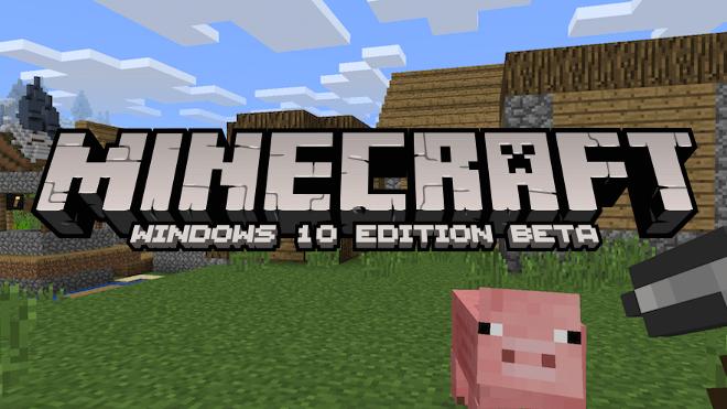 Minecraft Windows Edition Beta Angepasste Version Ab Juli - Minecraft spiele schieben