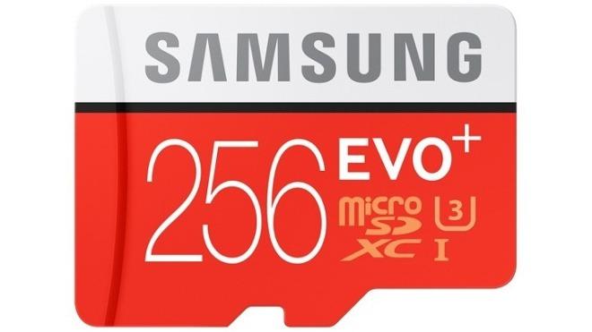 größte micro sd karte Speicher Spitzenreiter: Samsung stellt erste microSD mit 256 GB
