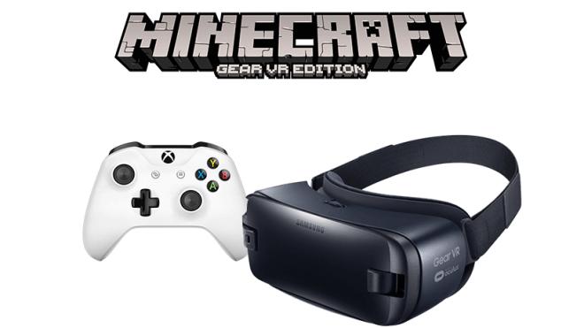 Minecraft Gear VR Edition Ab Sofort Mit Xbox Controller Steuern - Minecraft vr spielen