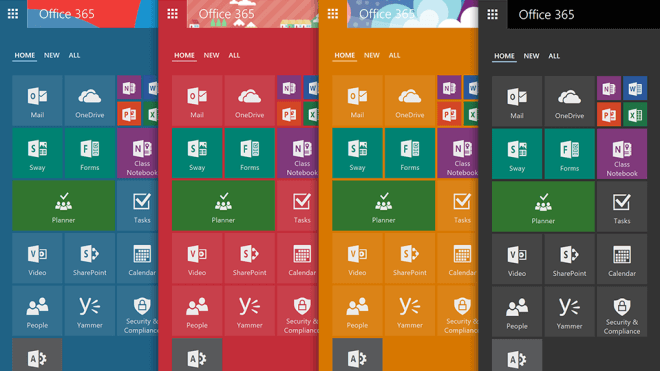 microsoft office online themes