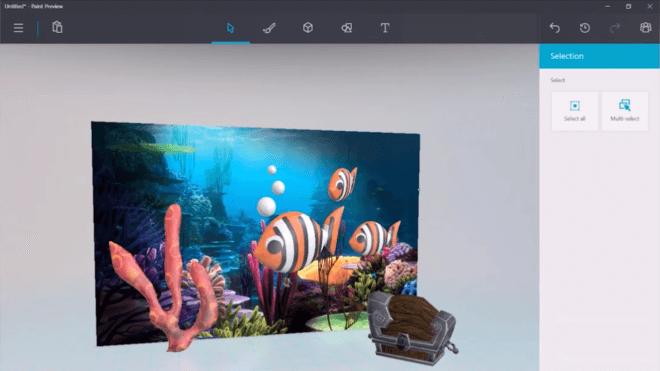 Microsoft Erweitert Paint 3d Mit Besserem Zauberstab Und