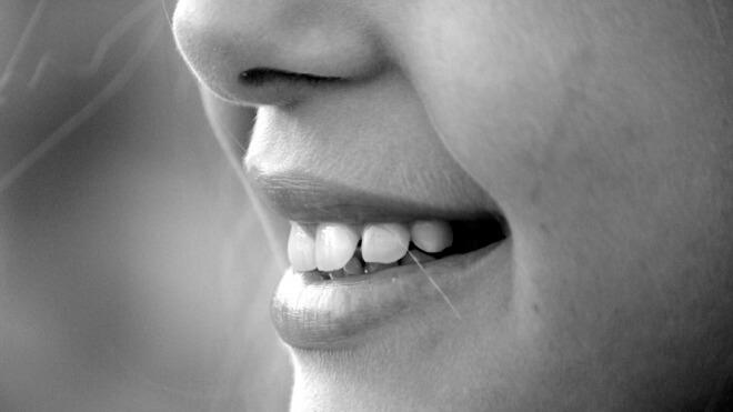 lächeln der mund