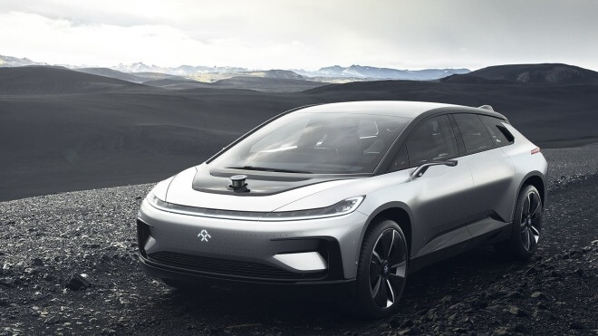 Ces, Elektroautos, CES 2017, Reichweite, Faraday Future