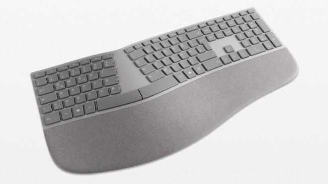 Ergonomische tastatur und maus  Microsoft startet Verkauf einer ergonomischen Tastatur im Surface ...