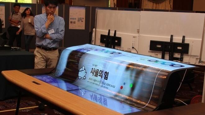 LG präsentiert rollbares 77-Zoll-Display: Wir nähern uns der OLED-Tapete