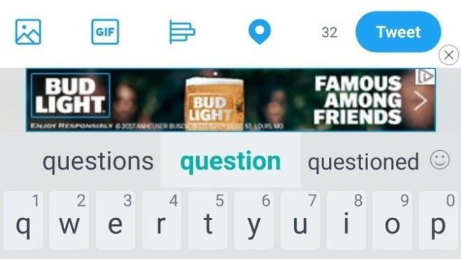 HTC: TouchPal-Tastatur blendet Werbung ein