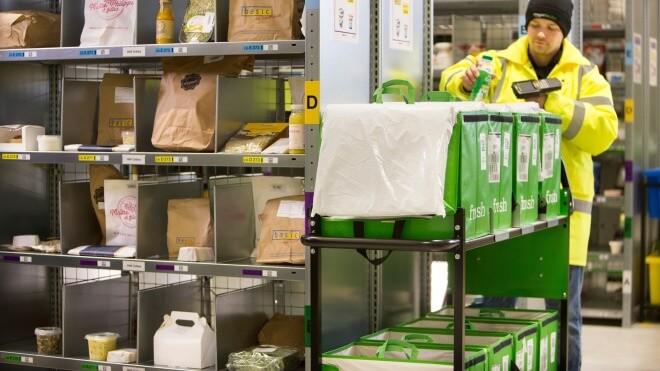 Amazon Fresh expandiert weiter