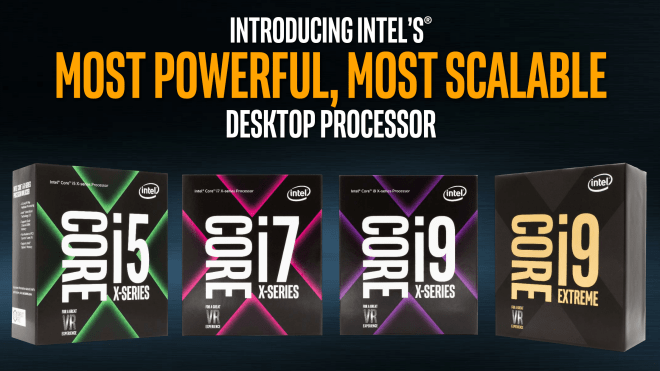 Intel nennt Spezifikationen der Core-i9-X-Serie