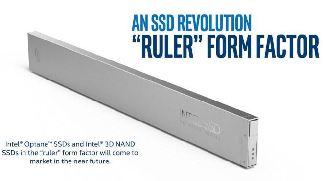 Intel: 1-Petabyte-SSD im Lineal-Format