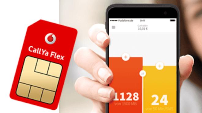 Vodafone startet CallYa Flex