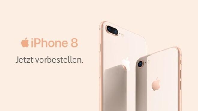 IPhone 8 und iPhone 8 Plus: Vorbestellung bei o2 gestartet