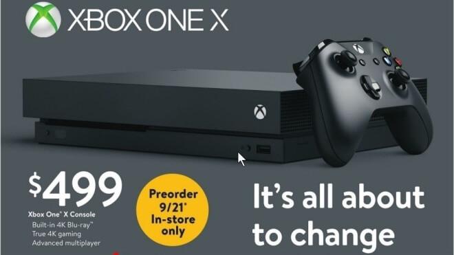 Microsoft: Vorbestellungen der Xbox One X ab heute möglich