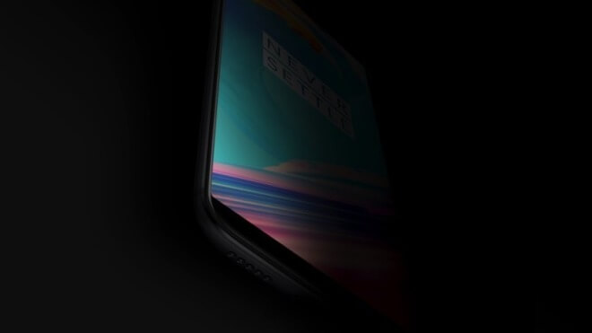 Teaser: OnePlus 5T zeigt schmalen Display-Rahmen