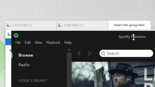 Windows 10: Groupy ermöglicht Tabs für alle Fenster