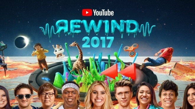 Die YouTube Highlights 2017: Wer hat die meisten Clicks, Likes, Shares?