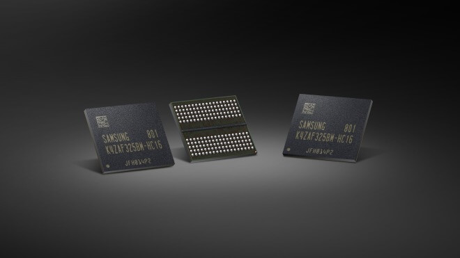 Samsung startet Massenproduktion für superschnellen 16-Gbit-GDDR6-Speicher