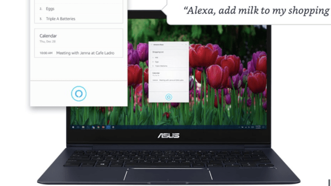 Amazon Voice Control for Windows 10: The Alexa application
