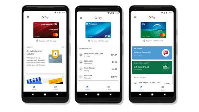 Google Pay: Google startet Bezahlplattform