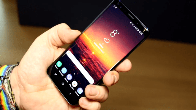 Smartphone, Android, Samsung, Lte, Galaxy, Test, Samsung Galaxy, Hands-On, Mwc, Hands on, MWC 2018, Galaxy S9, S9