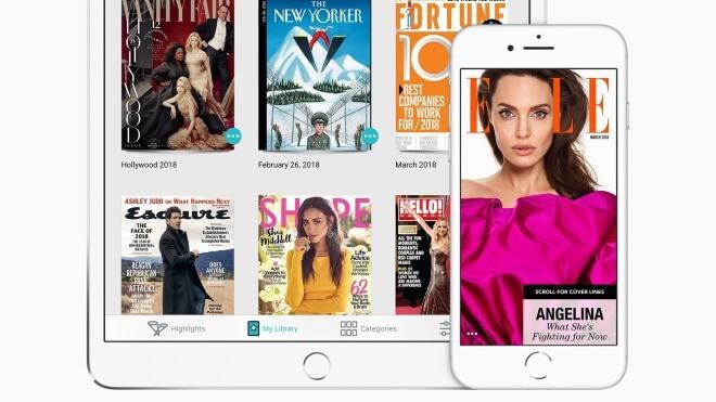 Apple schnappt sich digitalen Zeitschriftenservice Texture