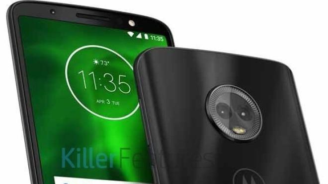 Moto G6: Datenblatt und mehr Bilder