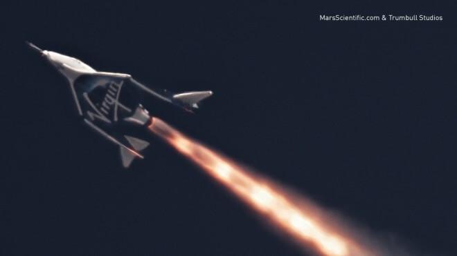 Nach Absturz von 'SpaceShipTwo': Test von Nachfolger erfolgreich