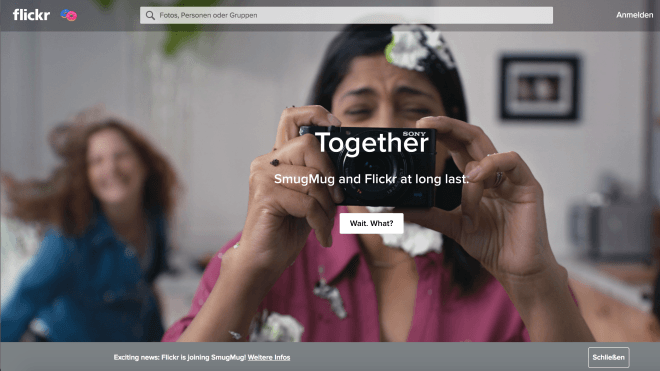Business: Flickr gehört nun zu SmugMug
