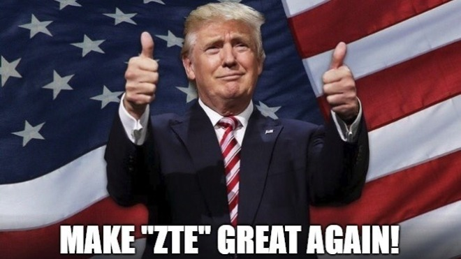 Trump erklärt Streit mit ZTE für beendet