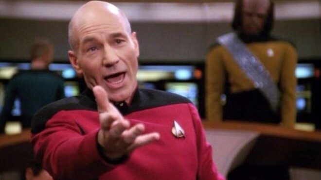 Star Trek The Generation Jean Luc Picard Patrick StewartBildquelle CBS  Paramount