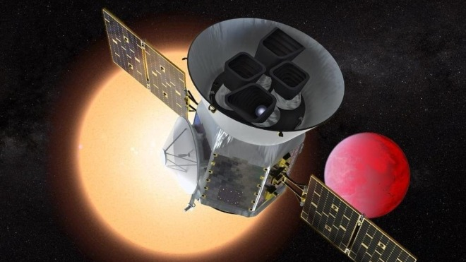 Nasa Planet exoplanet TESS Transiting Exoplanet Survey SatelliteBildquelle Nasa
