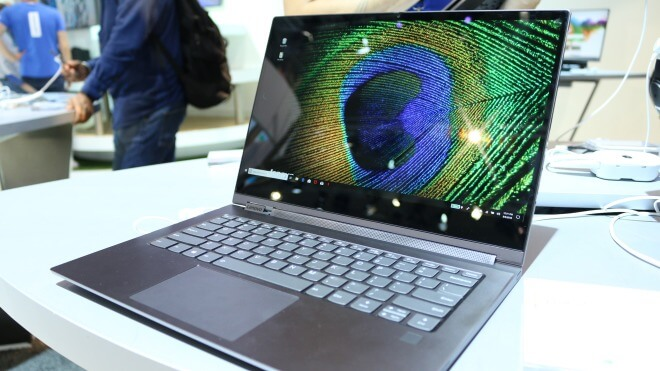 Windows 10, Notebook, Laptop, Test, Lenovo, Hands-On, Quadcore, Ifa, Hands on, Full Hd, Stylus, Review, Stift, PEN, IFA 2018, Yoga, 4K-Display, Intel Core i5-8250U, Intel Core i7-8550U, Lenovo Yoga C930, C930