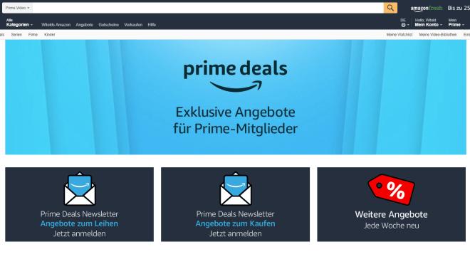Amazon Streaming Schnäppchen Amazon Prime Prime Prime Deals