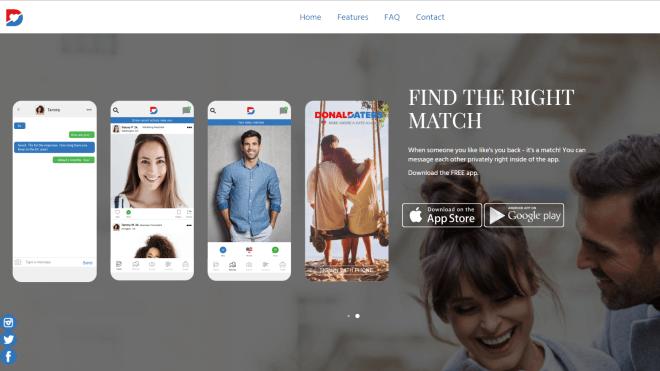Technologie: Bericht: Datenpanne bei neuer Dating-App für Trump-Anhänger