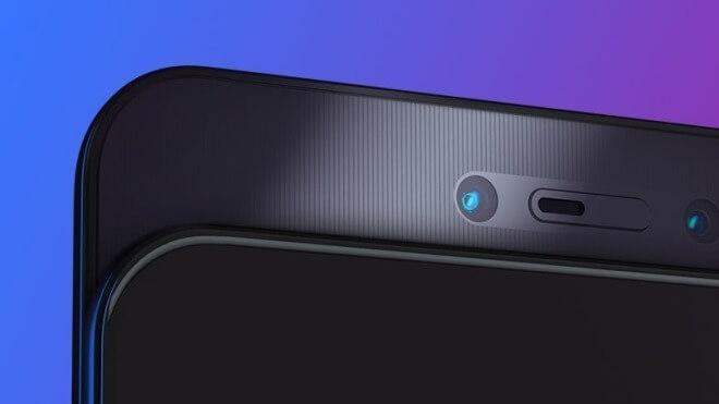 👍 Lenovo recurre también a la cámara frontal extraíble para lograr la pantalla total de su nuevo Z5 Pro