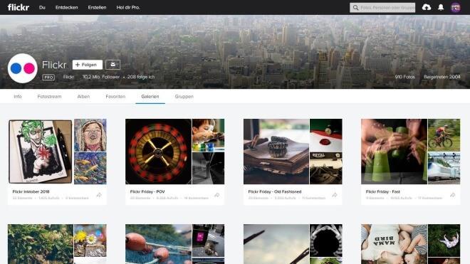Nur noch 1.000 Fotos: Flickr schränkt kostenlose Nutzung massiv ein